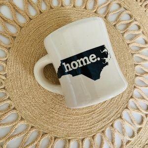 North Carolina Home State Heavy Ceramic Mug 8oz